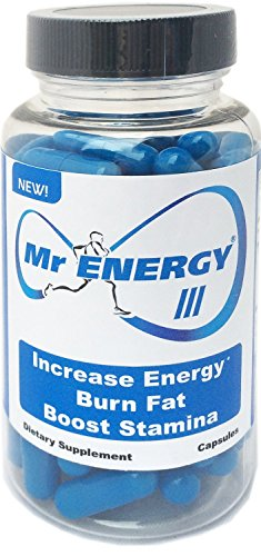 Mr Energy III Capsules - Energy Booster Pills Fat Burners St