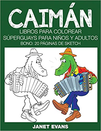 Ebooks gratis en inglés descargar Caiman: Libros Para Colorear ...