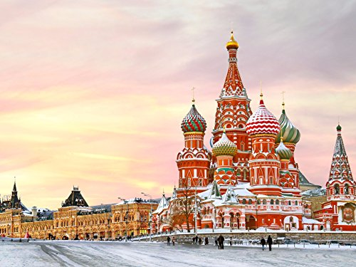 (Adult puzzle The Moscow Kremlin and Red Square 500-Piece Puzzle)