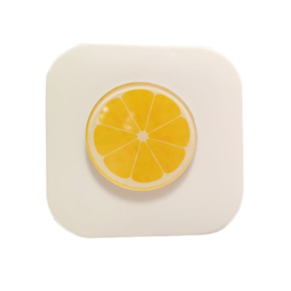 Fruit Style Eyekan Contact Lens Case Lenses Holder Box Travel Kit Case Yellow