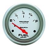 Auto Meter 4416 Ultra-Lite Short Sweep Electric Fuel Level Gauge