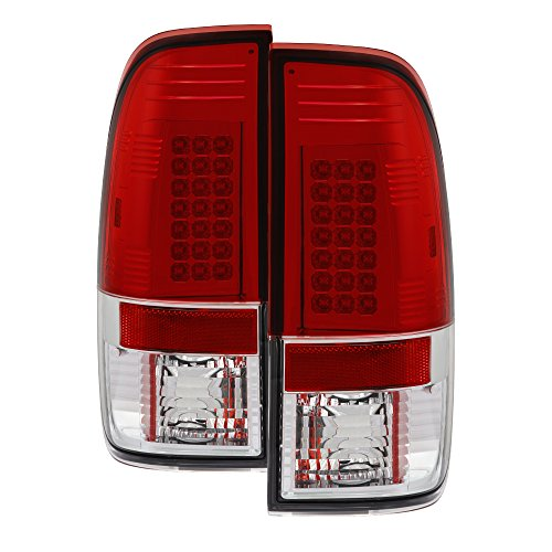 Clear Housing Red Spyder - Spyder Auto Ford Mustang Red Clear LED Tail Light