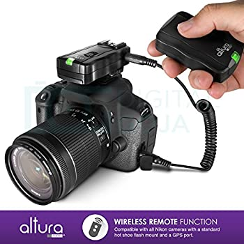 Altura Photo Professional Flash Kit For Nikon Dslr - Includes: I-ttl Flash (Ap-n1001), Wireless Flash Trigger Set & Accessories 16