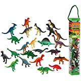 WowToyz Animal Explorer - Dinosaur Tube Playset - 24 Piece