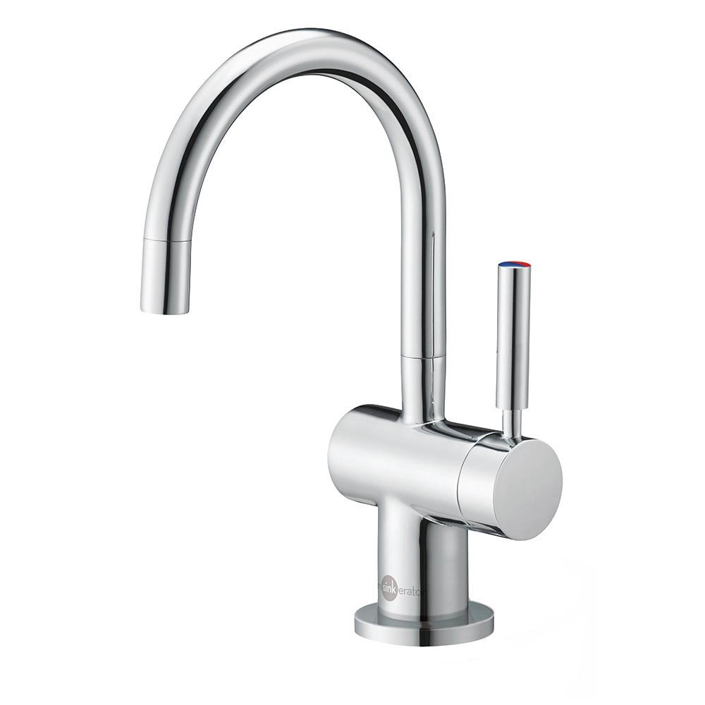 InSinkErator F-HC3300C Indulge Modern Instant Hot and Cold Water Dispenser Faucet, Chrome