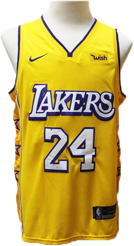Camiseta de Baloncesto para Hombres # 24 Kobe Bryant Los Angeles ...