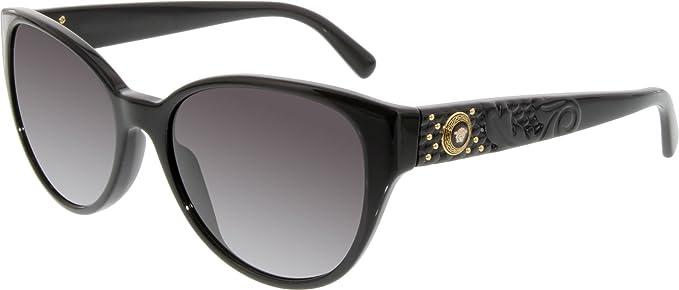 Versace - Lunette de soleil VE 4272 Rock Icons Vanitas Œil de chat - Femme, e3a42e14e63