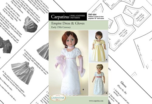 Regency Gown Pattern - 2