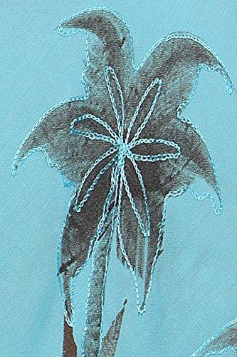 Plage Tree Dbardeur Palm Sakkas Caftan Turquoise de Robe Kai Robe Zxxqa48