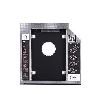 Haihuic Bandeja de Disco Duro SATA, 12.7 mm SATA a SATA 2º SSD HDD ...