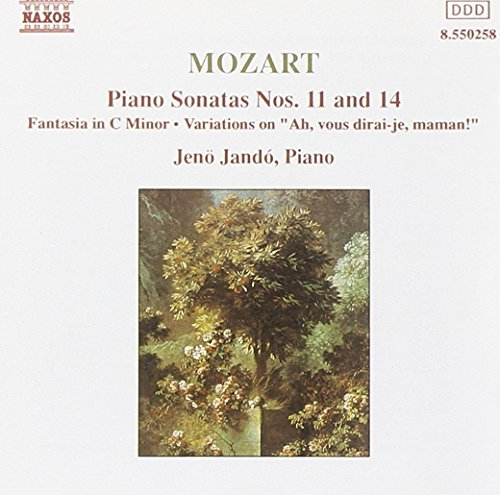 Mozart Piano Sonatas Numbers 11 and 14