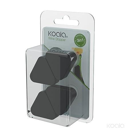 Koala 6606NN01 - Tapón dosificador antigoteo, Color Negro