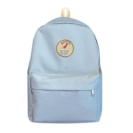 Widewing Mochilas mujer guess 2017 mochila de la manera sólida impresión casual estudiantes bolsa de escuela