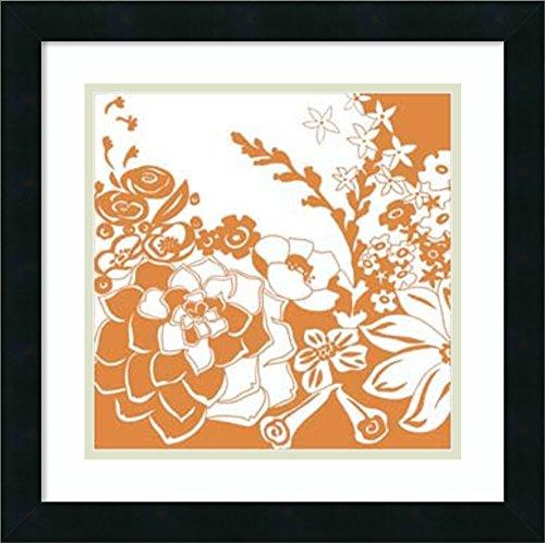 Framed Art Print 'Vibrant Tokyo Garden III' by Chariklia Zarris