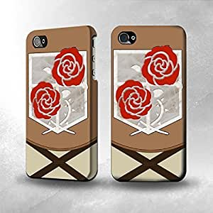 For SamSung Galaxy S5 Case Cover The Best 3D Full WrapAttack on Titan Stationary Troops Uniform