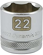 """Dynamic Tools D008006 3/8"""" Drive 6 Point Metric Socket with 6mm Standard Length"""