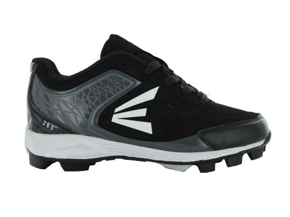 Easton 360 Youth Baseball Cleats - Black/Charcoal (2.0)