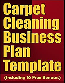 Carpet cleaning business start up guide mark j allen carpet cleaning business plan template including 10 free bonuses accmission Image collections