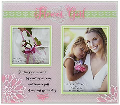 Lillian Rose Flower Girl Gift Picture Frame - Flowers And Gifts