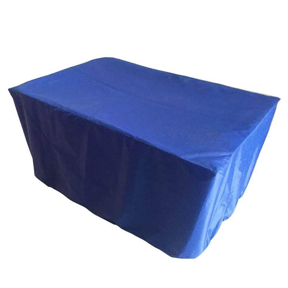 bleu 170x94x70cm WQQTT BÂcheTissu de Pluie Couverture de Pluie pour Meubles de Jardin extérieurs BÂcheTissu de Pluie (Couleur   bleu, Taille   170x94x70cm)