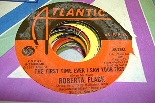 Price comparison product image ROBERTA FLACK 45 RPM The First Time Ever I Saw Your Face / Trade Winds
