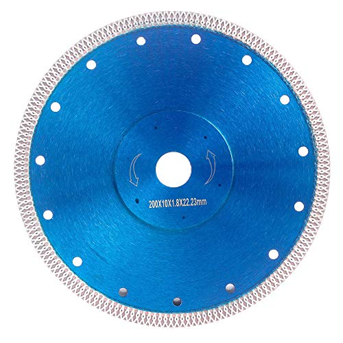 Supper Thin Diamond Tile Blade Porcelain Saw Blade for Cutting Porcelain Tile Granite Marbles (8