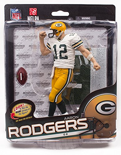 McFarlane Toys NFL Series 34 Aaron Rodgers Action Figure