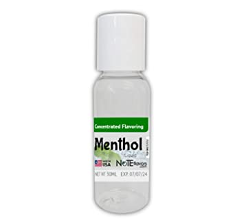 Liquid Menthol Crystals - 10-120mL USP Grade Menthol Flavor Concentrate  (30mL)
