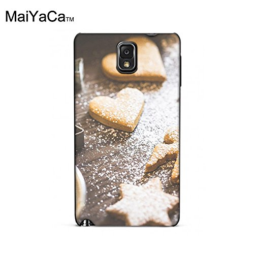Homemade Wallpaper - MaiYaCa(TM) M84676 Christmas Home Made Cookie Shapes Wallpaper phone case for samsung galaxy note3