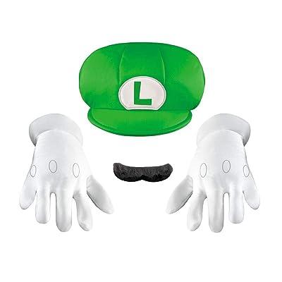 Disguise Luigi Child Accessory Kit Child: Clothing