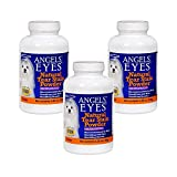 Angels' Eyes Natural Chicken Tear Stain Eliminator Remover (3 Pack), 150g