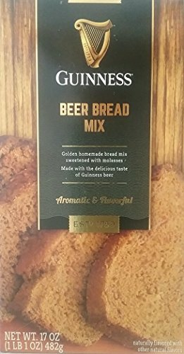 Beer Bread - Guinness Beer Bread Mix, 17 Oz. (Pack of 2)