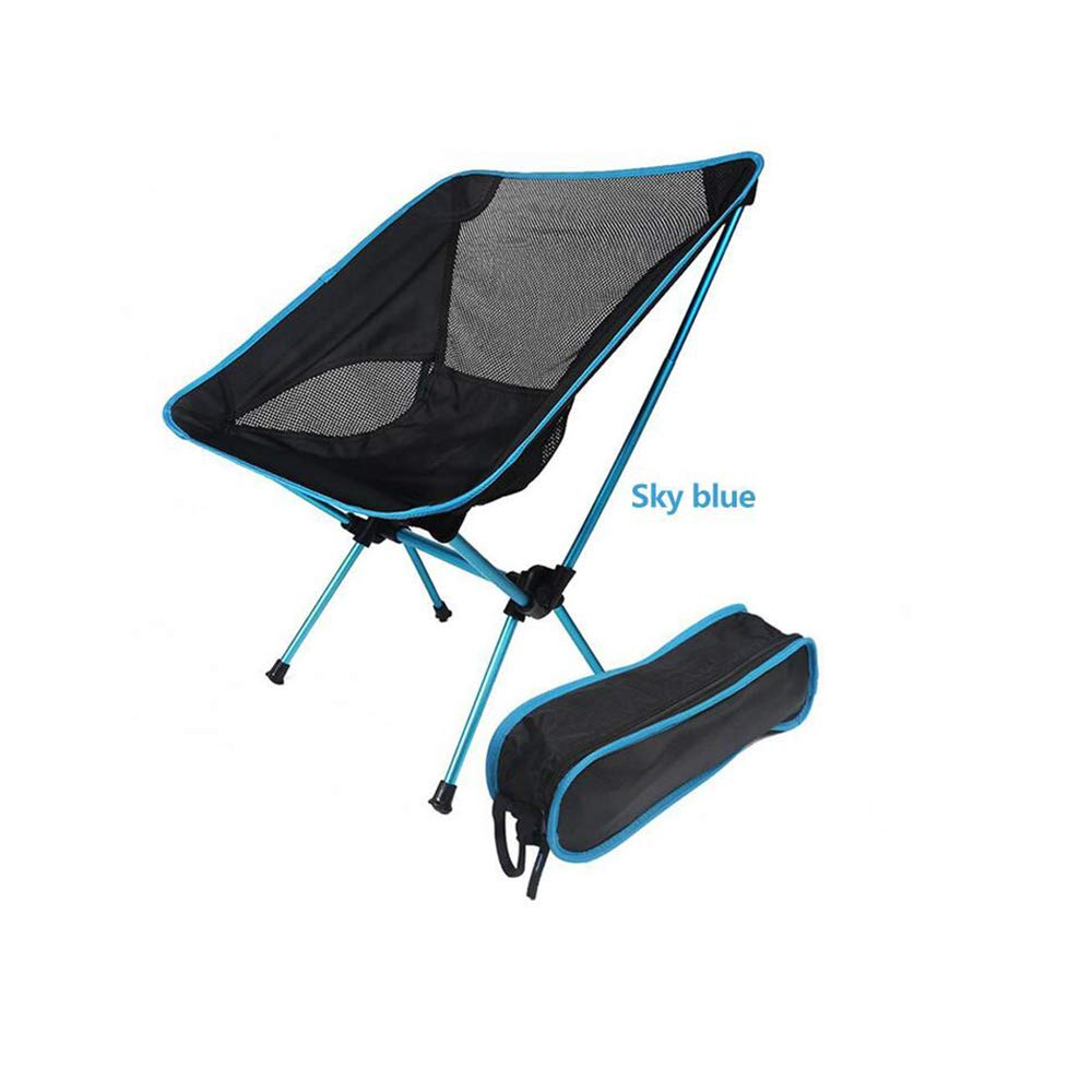 Hiking Camp STYLOWY Outdoor Ultralight Folding Portable Camping Chair Backpacking Heavy Duty 462lbs Capacity for Outdoor Picnic
