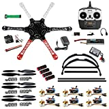 QWinOut F550 Airframe RC Hexacopter Drone Kit DIY PNF