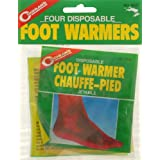 Coghlan's Disposable Foot Warmers, 4-Pack