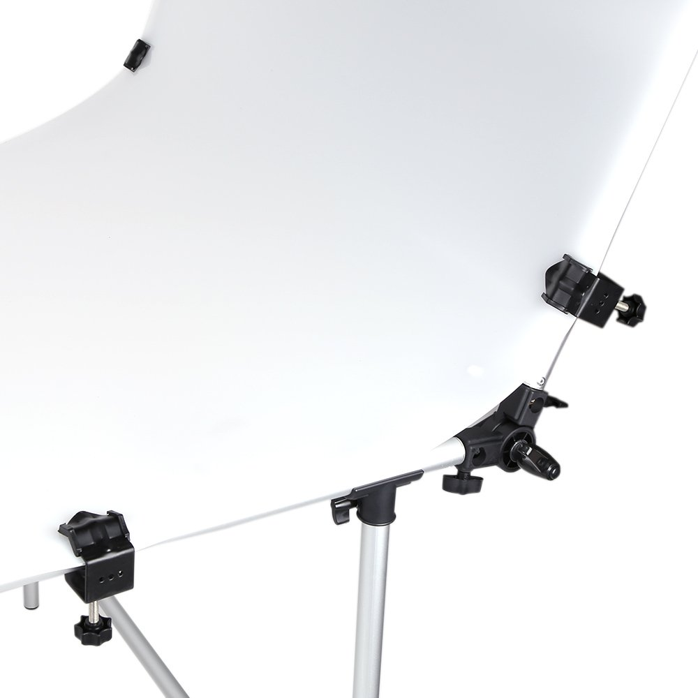 Andoer 100 x 200cm Photo Studio Photography Shooting Table for Still Life Product Shooting Aluminum Alloy Frame by Andoer (Image #7)