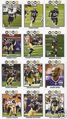 all Cards - 5 Years Of Topps Complete Team Sets 2005,2006,2007, 2008 & 2009 - Includes Stars, Rookies & More - Individually Packaged! ()
