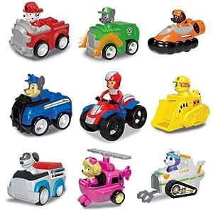 9 PCS Paw Patrol  Toys set