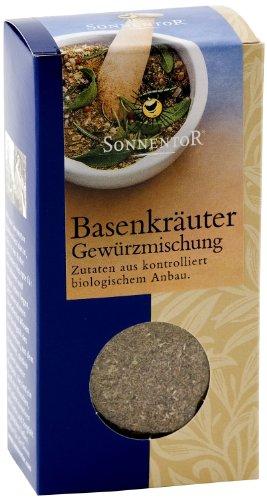 Sonnentor Basen Kräuter-Gewürz-Mischung, 1er Pack (1 x 35 g) - Bio
