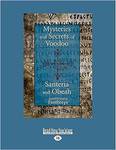 Amazon com: Mysteries and Secrets of Voodoo, Santeria, and Obeah