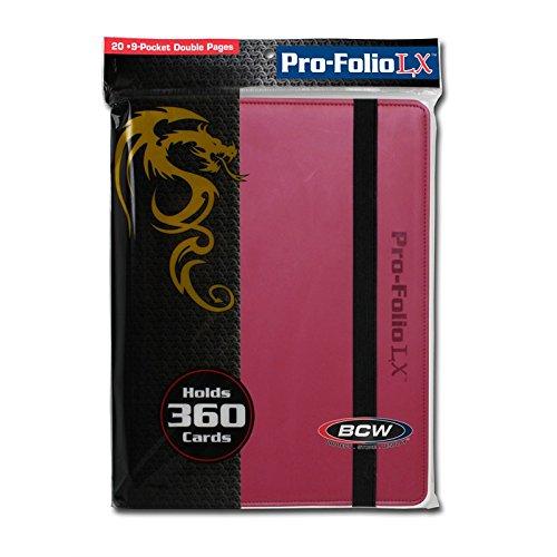 BCW 9 Pocket Pro-Folio LX Game, Orange FLAHC 1-PF9LX-ORG