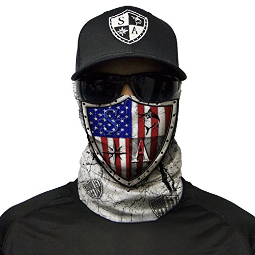 S A CO Official FREEDOM SHIELD Face Shield, Perfect for All Outdoor Activities, Protects Face Against the Elements by S A