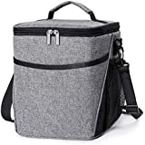 Insulated Lunch Box Lunch Bag for Men Women Adults, 9L Thermal Bento Bag,Vtopmart Upgraded Reusable Leakproof Large…