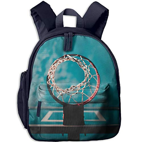 Backpack Mini Canvas Navy School Backpack Fashion Girls Basketball Cute For Boys Toddler Hoop qRAfqr