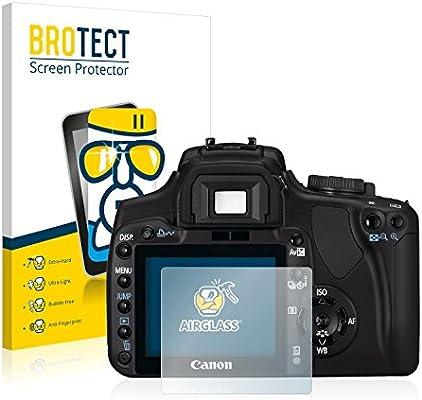 BROTECT Protector Pantalla Cristal Compatible con Canon EOS 400D ...