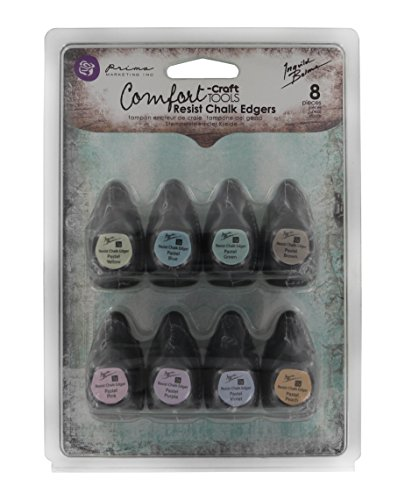 (Prima Marketing 892371 8-Piece Chalk Fluid Edger Resist Pad)