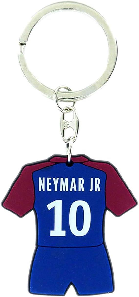 Porte-Cl/é Paris Saint-Germain Officiel Neymar Jr Rouge PSG Bleu