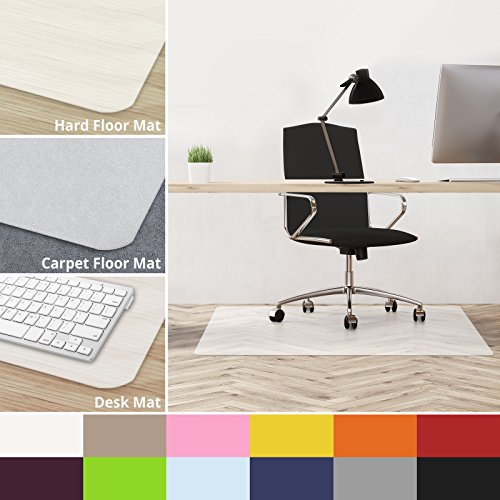 casa pura Office Chair Mat Hardwood Floor - 30