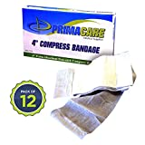 Primacare WB-7701-CS Sterile 4-Inch Compress Bandage, 72-Inch Length (Box of 12)