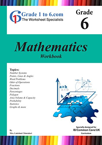 Amazon Grade 6 Maths Myp K 6 Ks2 Workbook Worksheets Www